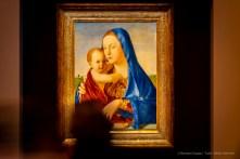 Antonello da Messina, Madonna col Bambino (Madonna Benson) (1475 circa), olio e tempera su tavola trasportata su compensato; 58,1 x 43,2 cm. Washington, National Gallery of Art