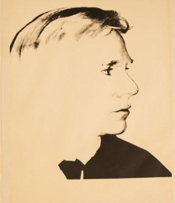 Self-Portrait, Screenprint on Curtis Rag Paper, 114.3x88.9cm
