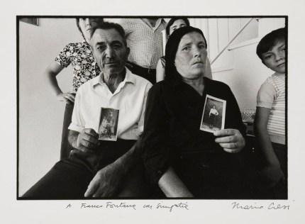 Mario Cresci, Ritratto in tempo reale, Oliveto Lucano, 1972 (part.)