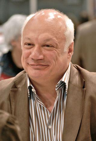 Éric-Emmanuel Schmitt, lors du Salon international du livre de Québec 2011. Foto Asclepias