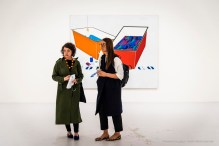 Emilio Tadini, Color & Co., 1969 acrilici su tela - acrylics on canvas 200 x 240 cm