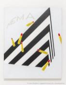 Emilio Tadini, Viaggio in Italia, 1971 acrilici su tela - acrylics on canvas, 146 x 114 cm
