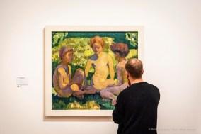 Giovanni Giacometti, Fanciulli al sole 1910. Olio su tela, 91 x 100 cm. Kunstmuseum Bern.