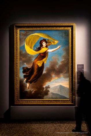 Elisabeth Vigée Lebrun, PORTRAIT OF PRINCESS KAROLINE VON LIECHTENSTEIN 1793 olio su tela 222 159 cm, Palazzo Liechtenstein, Vienna