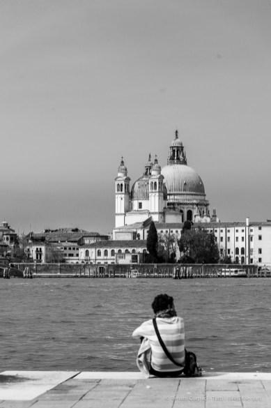 Venezia, Madonna della Salute vista da Fondamenta Zitelle. Nikon D810, 98 mm (24.0-120.0 mm ƒ/4) 1/400 ƒ/6.3 ISO 64