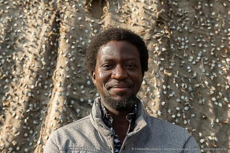 Ibrahim Mahama, autore dell'installazione
