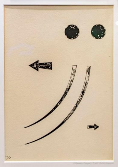 Wassily Kandinsky, Untitled 1930. Gariboldi, miart 2019