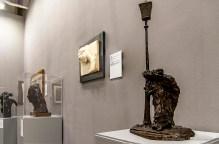 Medardo Rosso, Gli innamorati sotto il lampione; Ecce Puer; Adolfo Wildt, Mater Purissima. Galleria Russo, miart 2019