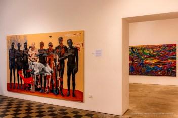 """Padiglione Zimbabwe, Soko Risina Musoro (The Tale Without a Head). Istituto Provinciale per l'Infanzia """"Santa Maria Della Pietà""""."""