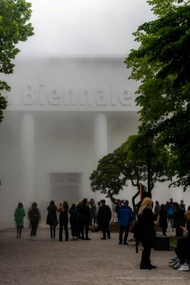 Ingresso al Padiglione Centrale, ai Giardini Biennale