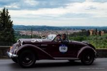 Emanuele Pirro, in coppia con Gian Carlo Bruno – Alfa Romeo 6C 2300 Pescara Spider del 1935