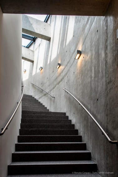 Mario Botta , Teatro dell'architettura. Mendrisio, Università della Svizzera italiana. Foto © Renato Corpaci