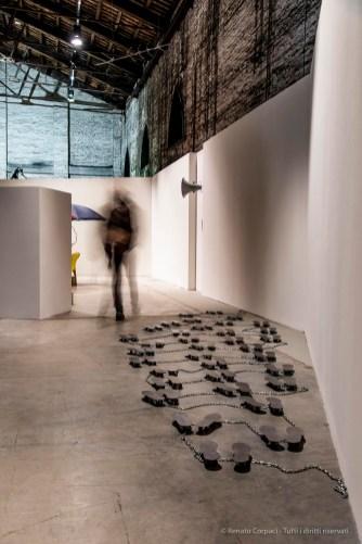 Liliana Moro La Passeggiata 1988, Padiglione Italia Biennale Arte 2019