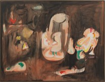 ARSHILE GORKY, Pastoral / Pastorale ca. 1947. Oil and pencil on canvas, 111.8 x 142.2 cm. Private collection / Collezione privata Photo: Christopher Burke