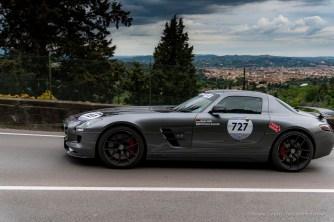Mercedes-Benz AMG GT, parte del Mercedes-Benz 1000 Miglia Challenge