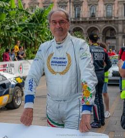 Tony Fassina, secondo con la Lancia Stratos Hf