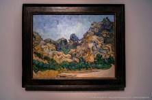 Vincent Van Gogh, Montagnes à Saint-Rémy, 1889