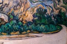 Vincent Van Gogh, Montagnes à Saint-Rémy, 1889 (Particolare)