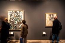 Robert Delaunay, La ville 1911; André Derain, Portrait de jeune homme, 1913-14