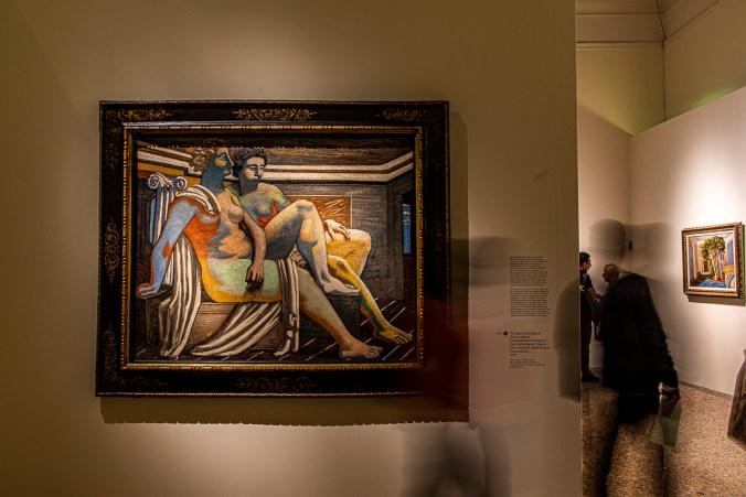 Giorgio de Chirico, Due figure mitologiche