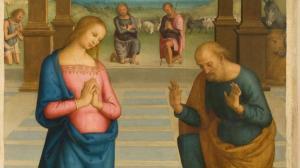 Perugino Adorazione pastori