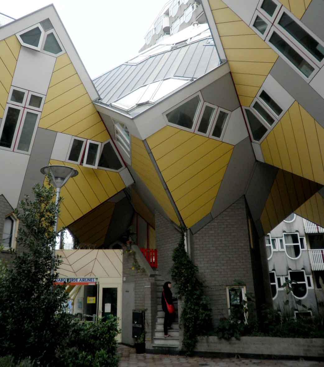 Rotterdam  un itinerario a piedi di architettura