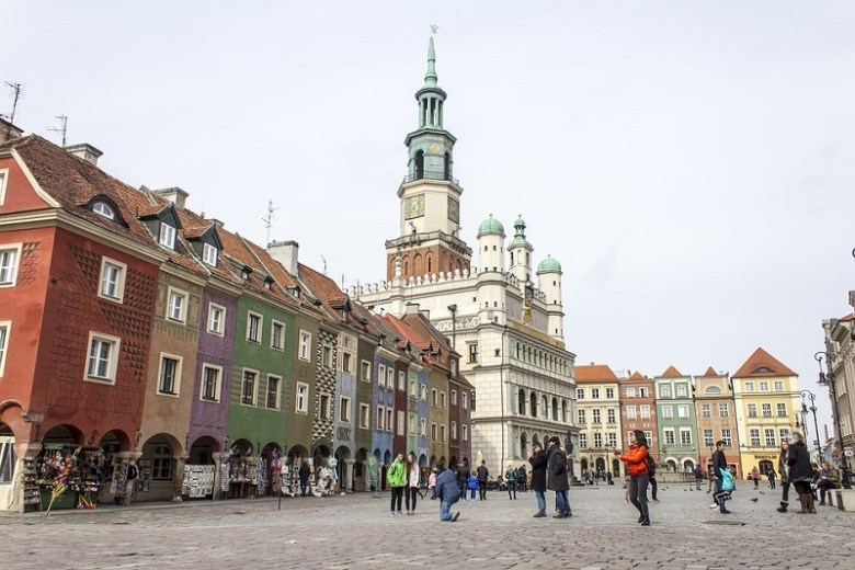 Vacanze in Europa in auto Poznan