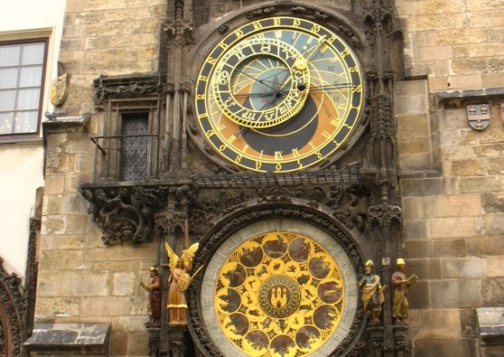 Praga-l'orologio astronomico