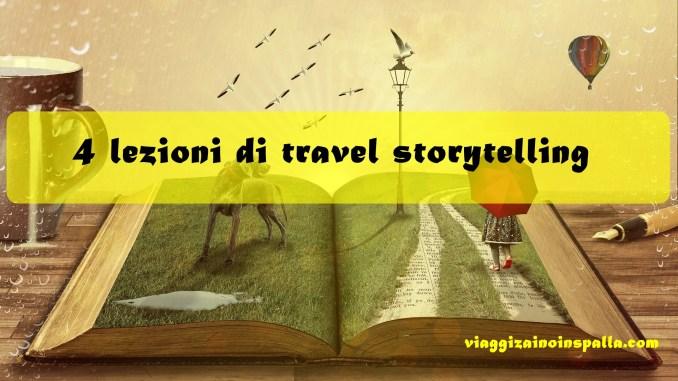 4 lezioni di storytelling
