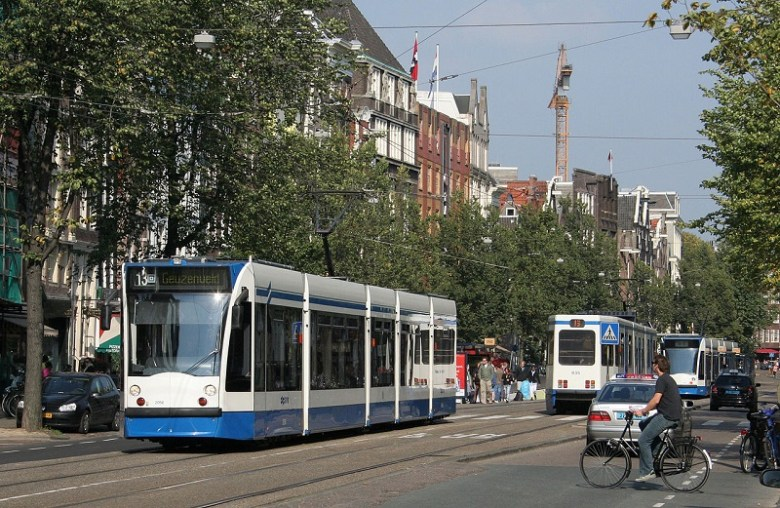 Mezzi pubblici Amsterdam