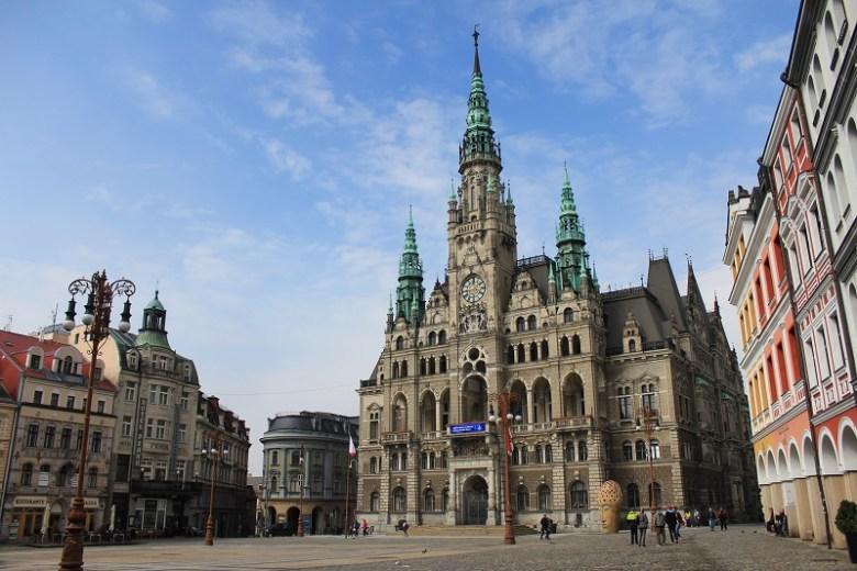 Il municipio di Liberec
