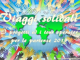 viaggi solidali 2019