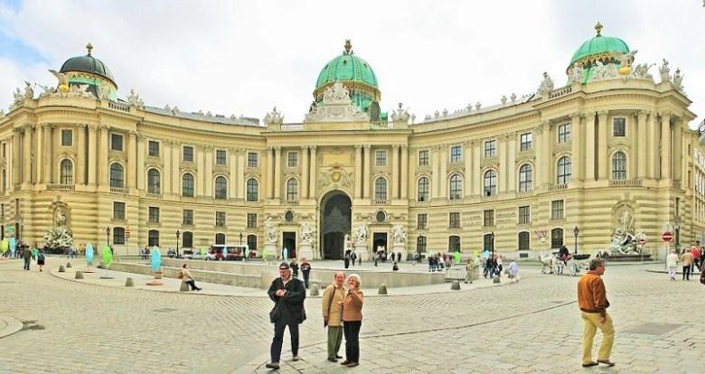 weekend a Vienna / hoffburg palace