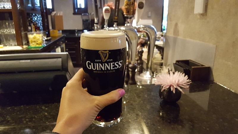 bere guinness a Dublino