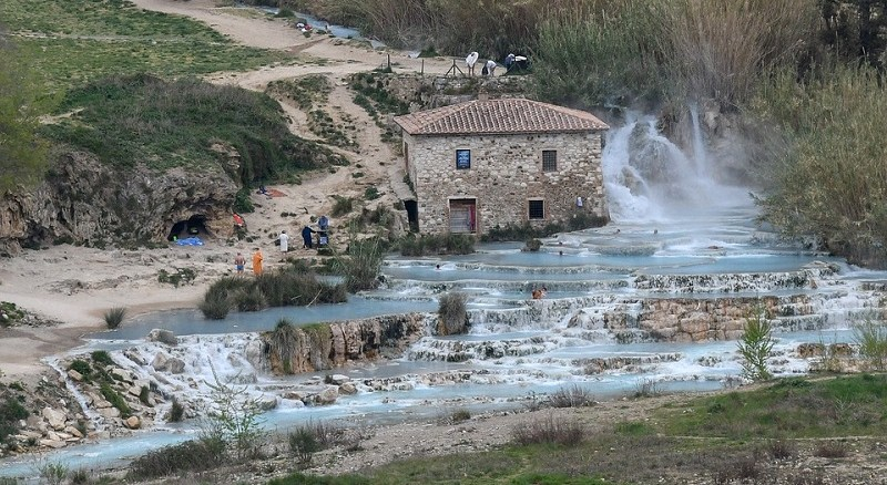 Free spas in Tuscany