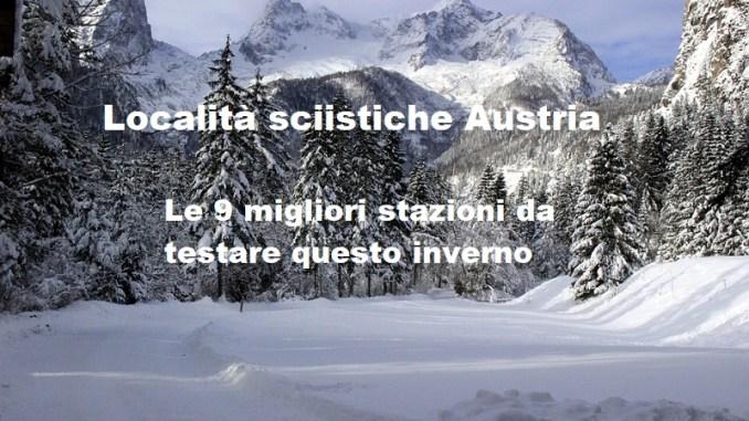 localita sciistiche austria