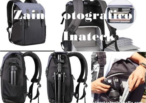 recensione zaino fotografico Inateck