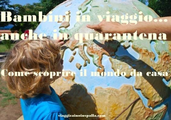 bambini in viaggio geografia