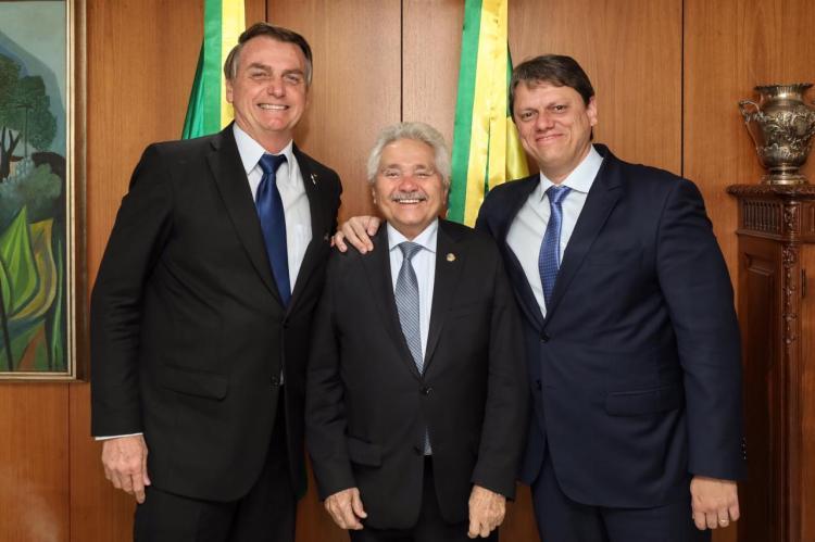 Presidente e Elmano Férrer