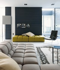 High-End Furniture in Modern Prefab House - Guest Room ...