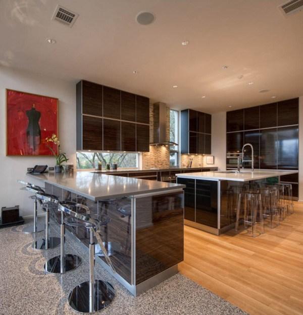Contemporary Home Design Kitchen
