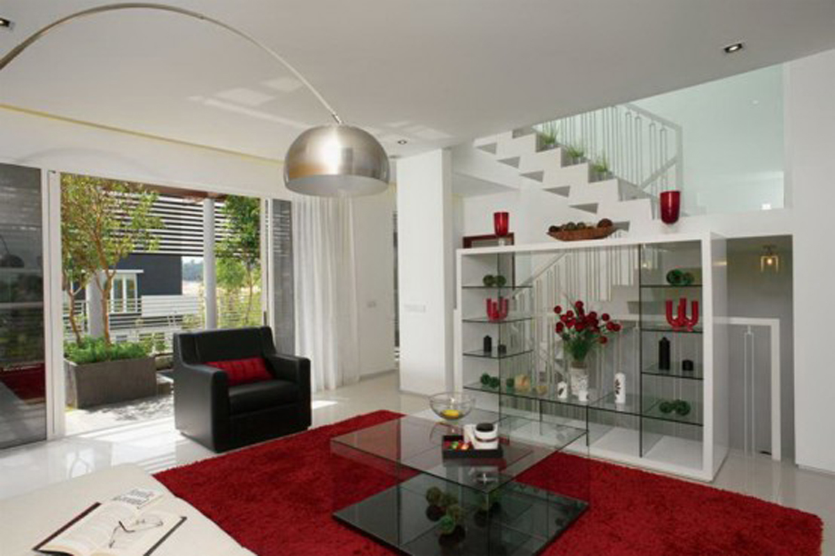 tropical living room in malaysia window treatments for large windows great houses urban environment eco friendly home design