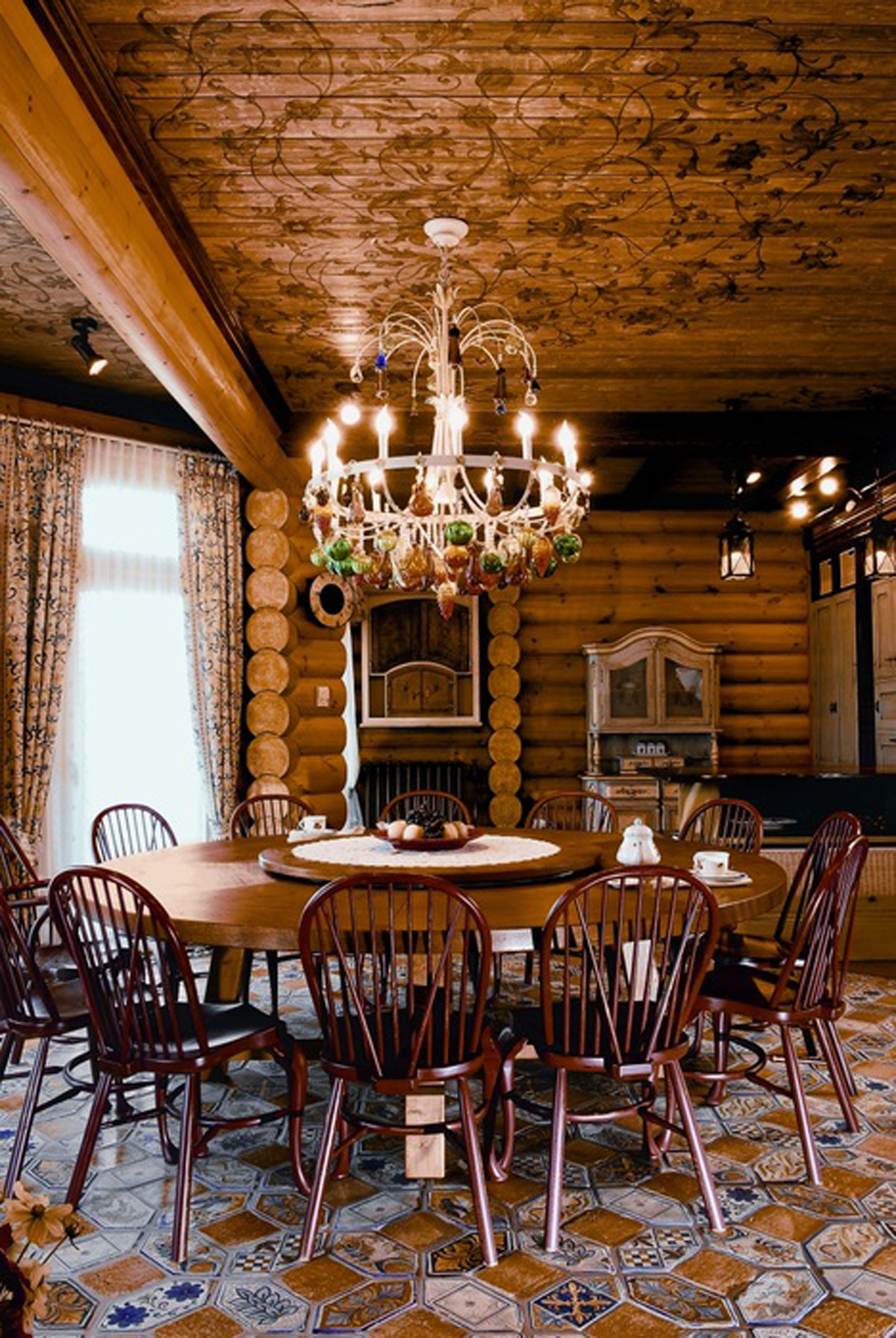 Huge RussianSiberian House Design Fairy Tales Dream