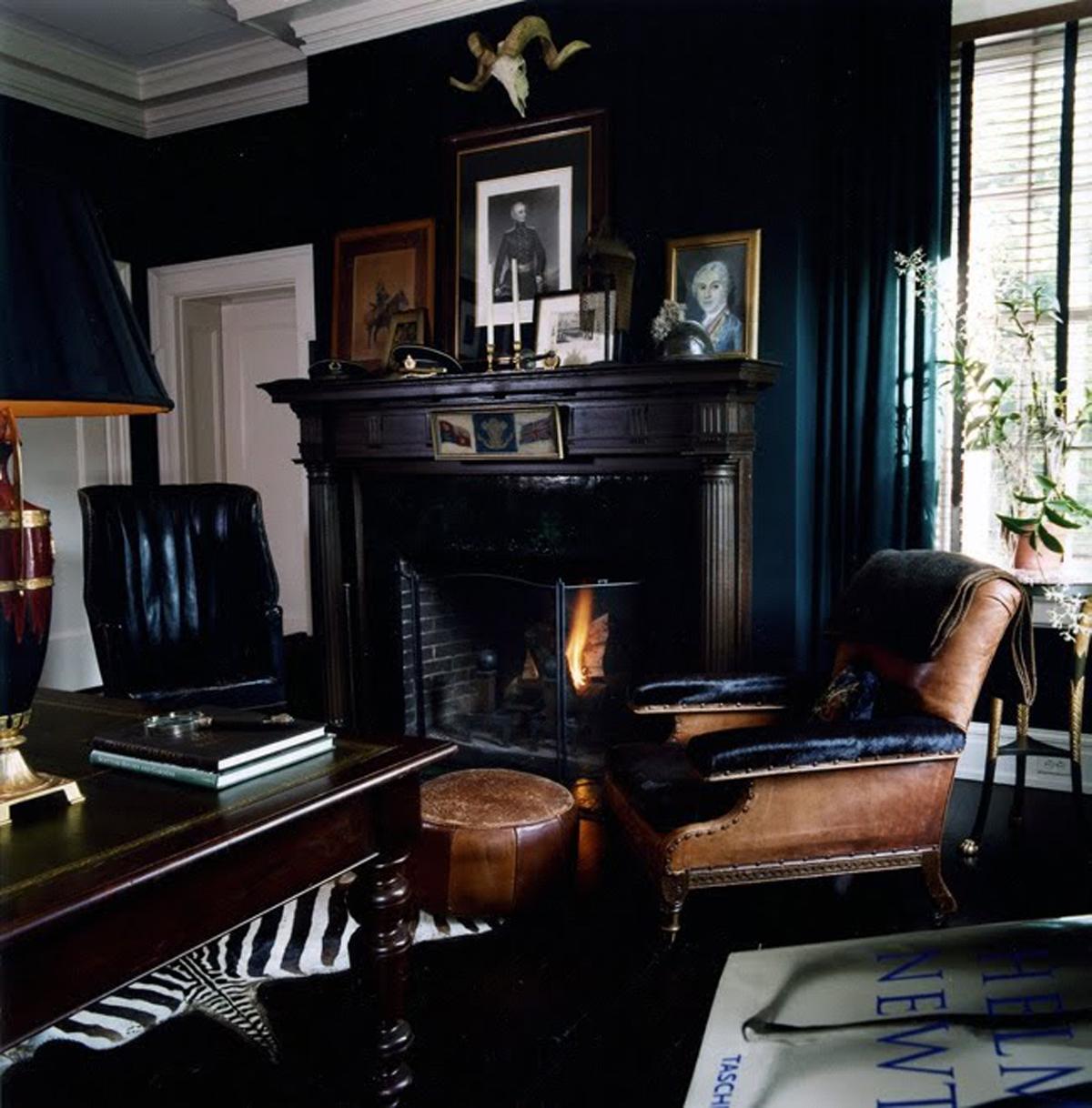Interior Design Ideas The Black Room  ViahouseCom
