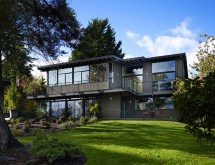 Two-Story Glass House Designs
