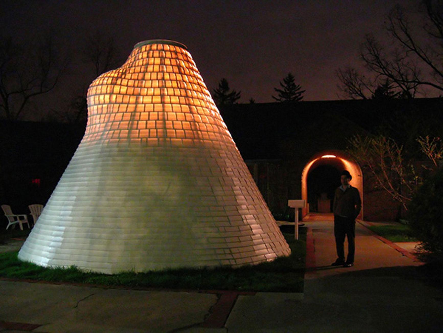 Native American Tent Architecture Futuristic Tipi Design