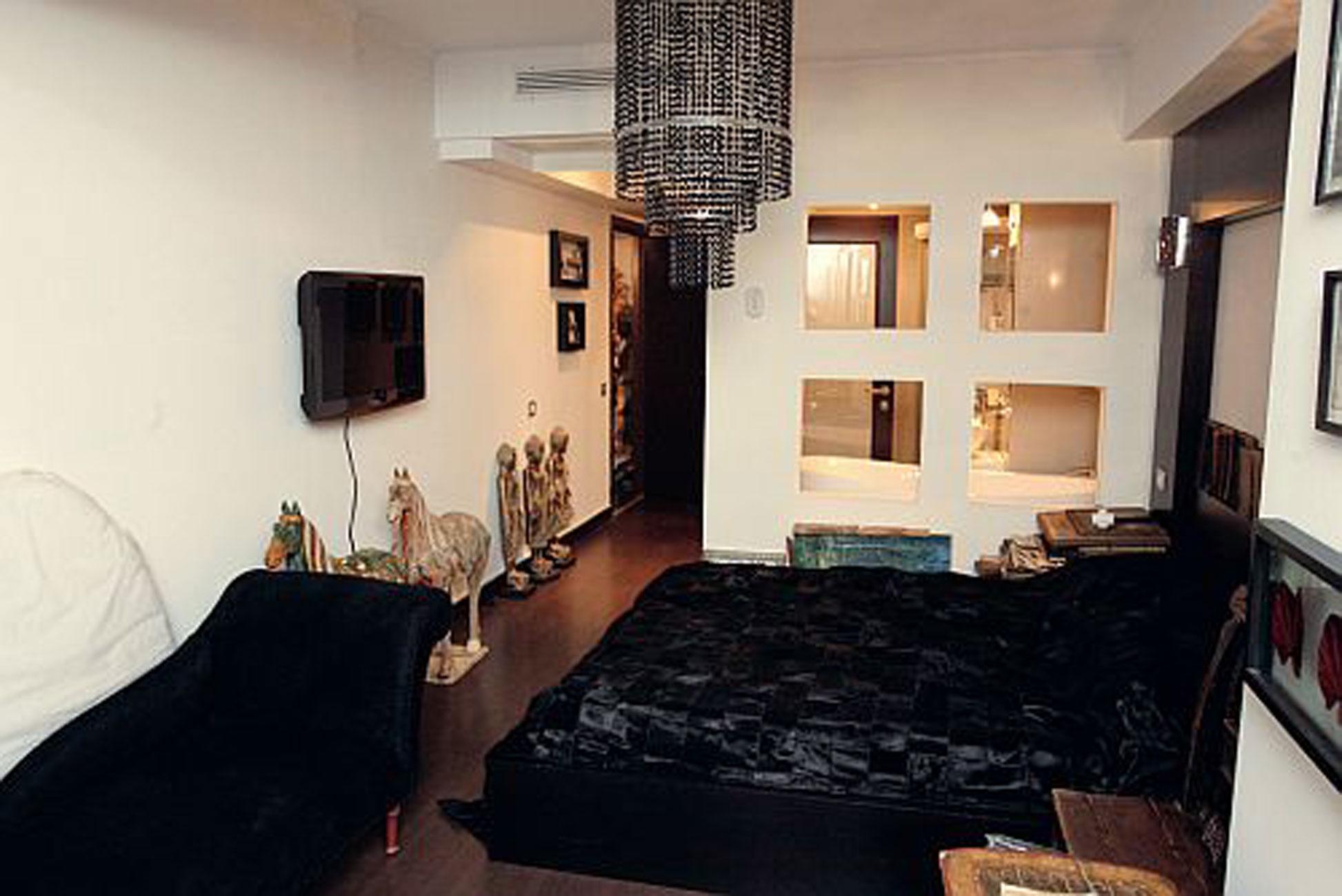 Fashion Designer Apartment Cozy Living Place of Catalin Botezatu  Living room  ViahouseCom