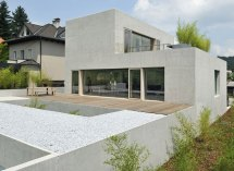 Modern House Design With Rooftop Terrace In Slovenia