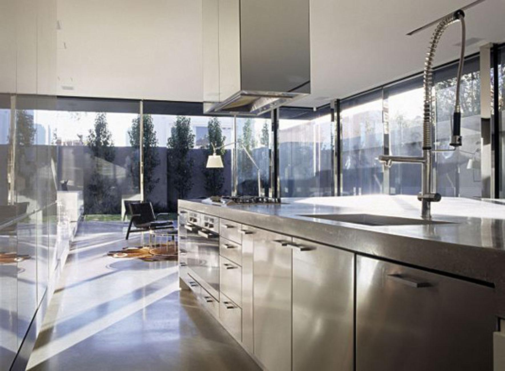 Modern Interior Design For A Contemporary Concrete House