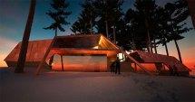 Futuristic Beach House Plans Designs